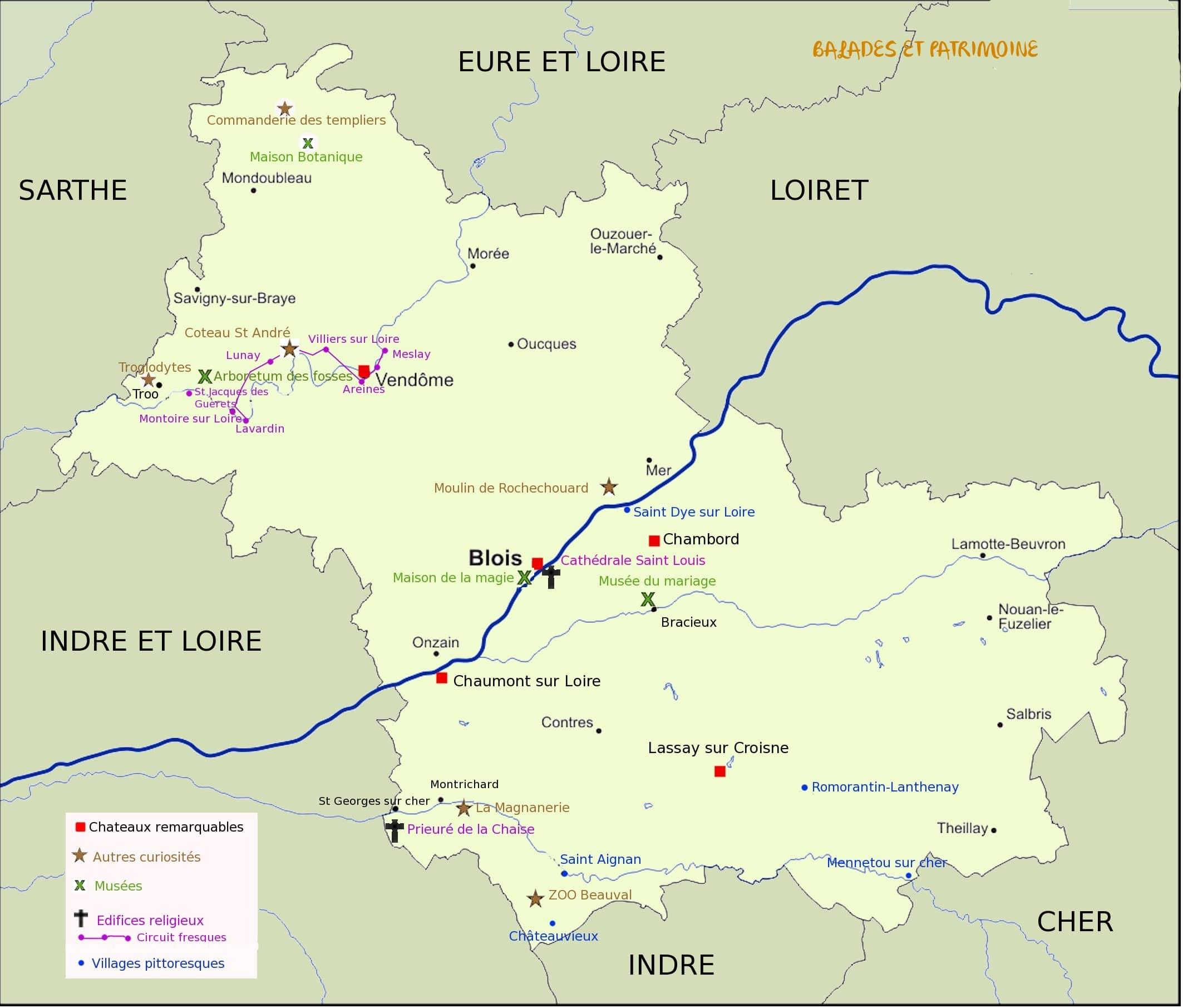 Tourisme Blois-balades et patrimoine