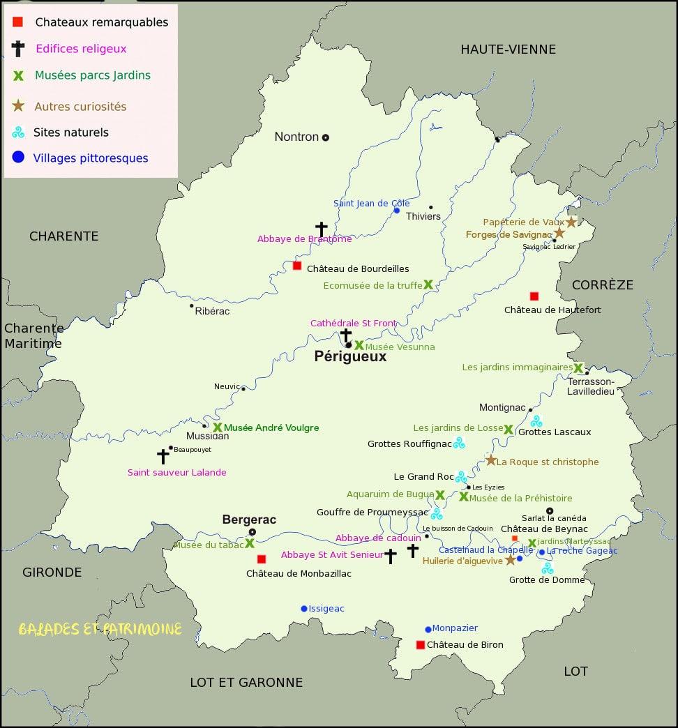 Tourisme autour de Périgueux - Balades et Patrimoine