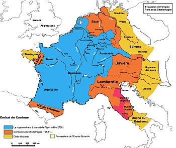 royaume des carolingiens