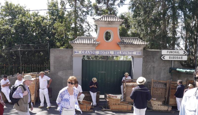 Carro de cesto-Funchal-balades et patrimoine
