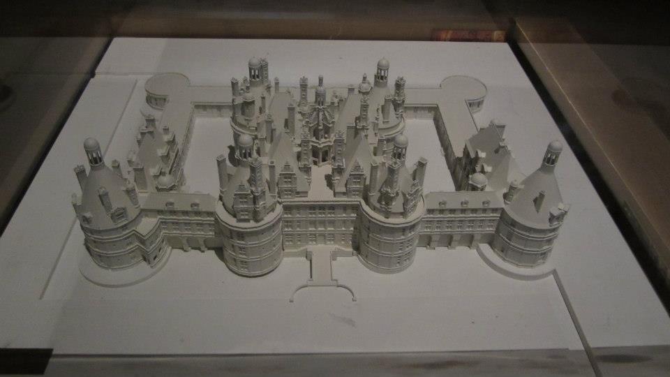 maquette Chambord