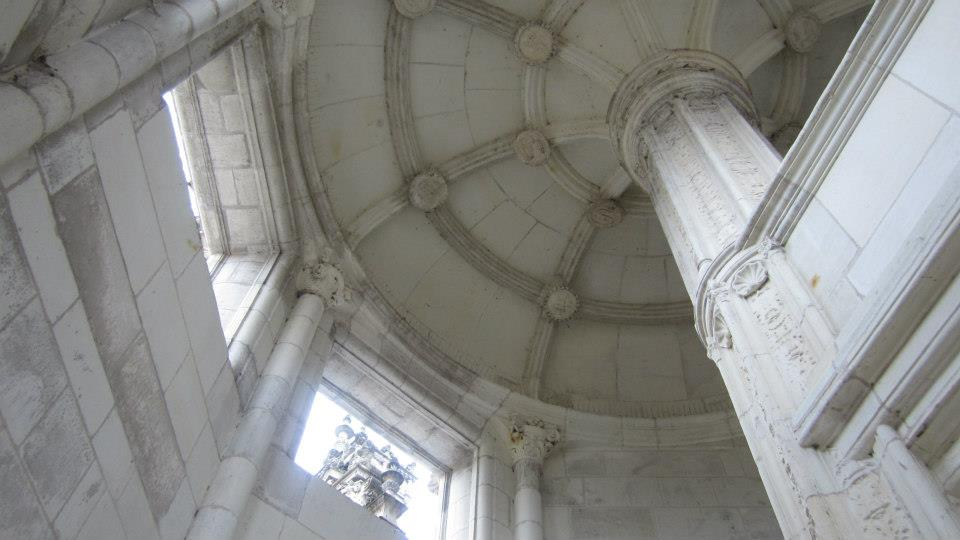 escalier monumental Leonard de Vinci, Chambord