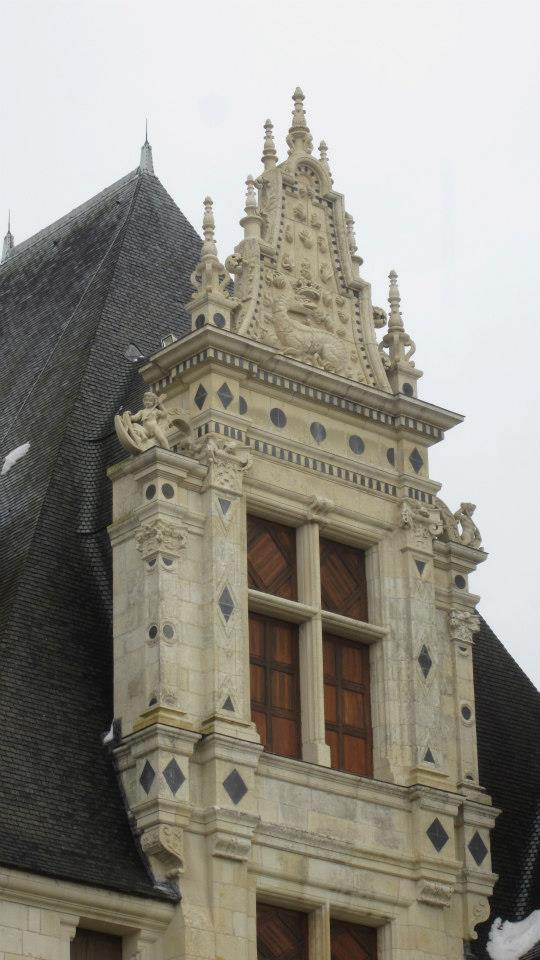 Fenêtre ouvragée Renaissance, Chambord
