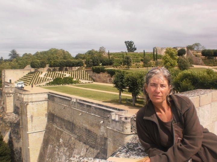 Les jardins, chateau Amboise