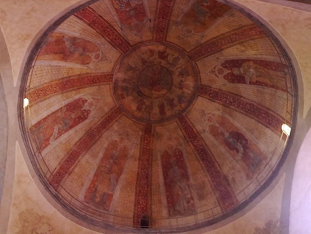balades et patrimoine, coupole Cathedrale Saint Etienne
