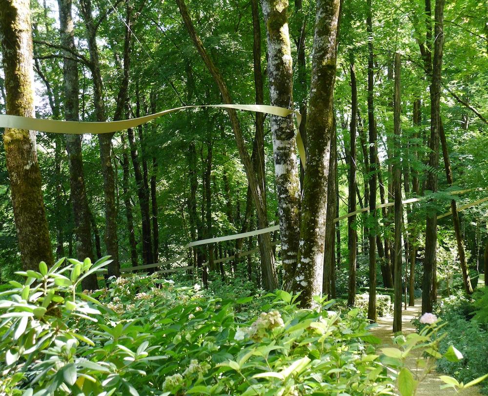 fil dariane, jardin de Terrasson, parcours imaginaire
