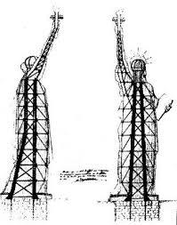 statue liberté, Gustave eiffel