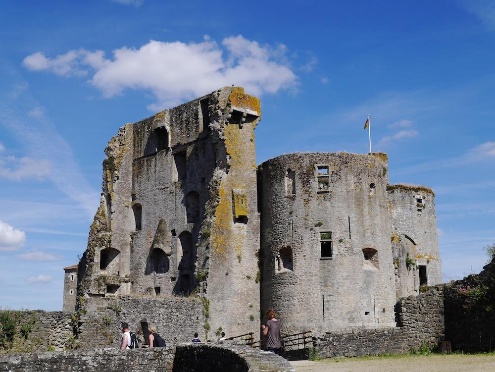 forteresse médiéval, clisson