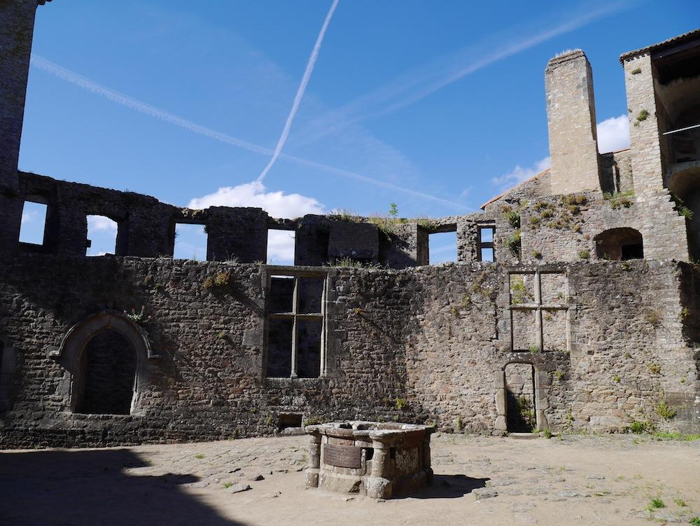 Château méiéval proximité Nantes