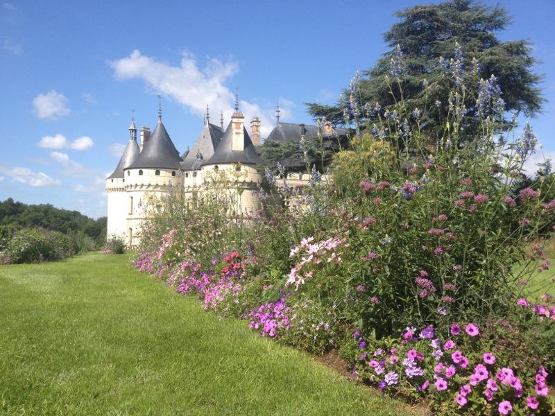 Chateau Chaumont sur Loire-jardins
