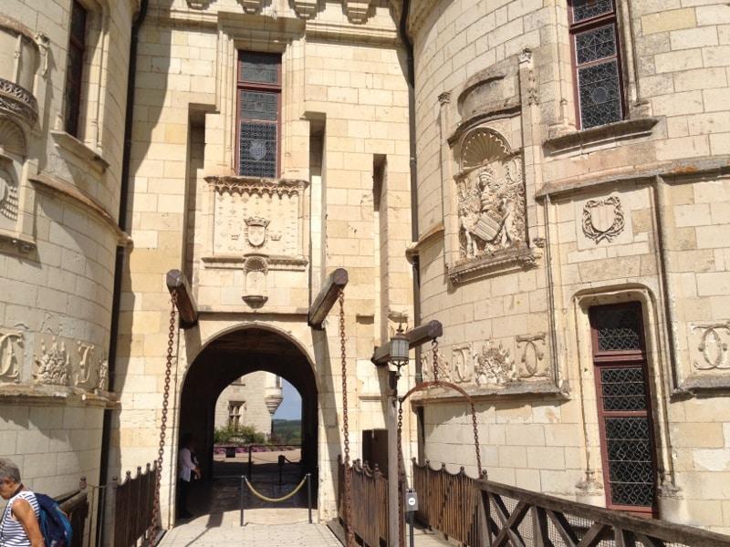 Chateau Chaumont sur Loire-Pont Levis