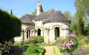 Le prieuré de Saint-Cosme.