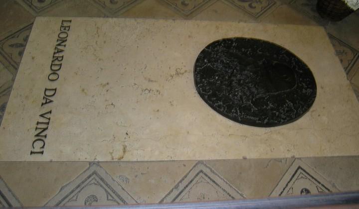 Sépulture leonard de vinci Amboise
