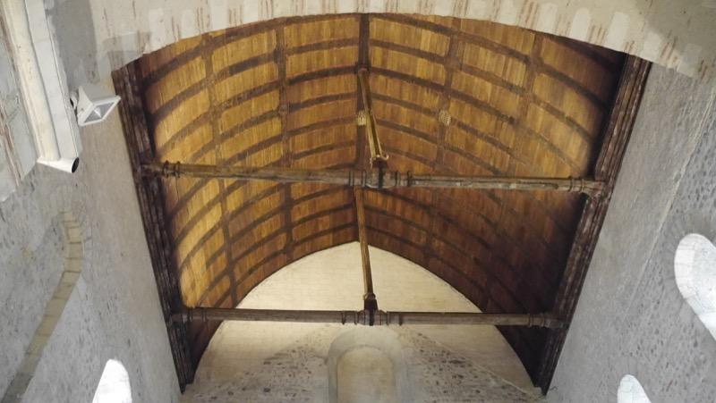 charpente lambrissée-collegiale Saint Martin Angers