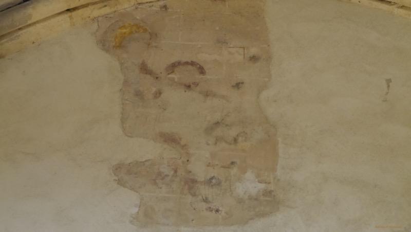 Peinture murale collegiale Saint Martin
