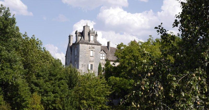 Château de Cenevières-Tourisme Lot