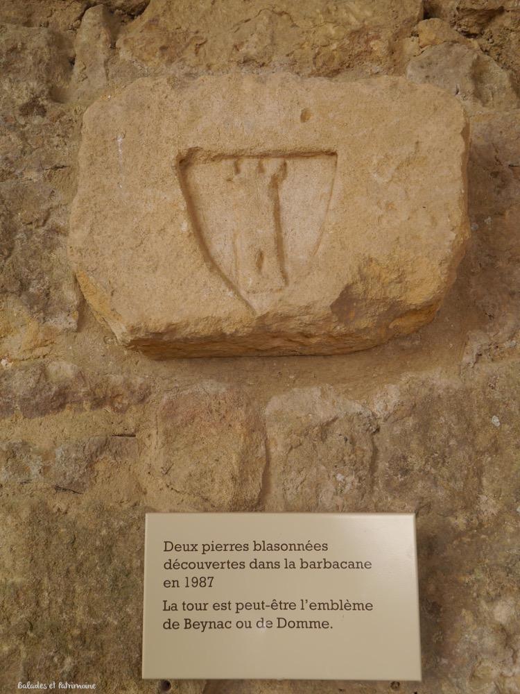 Blason en pierre