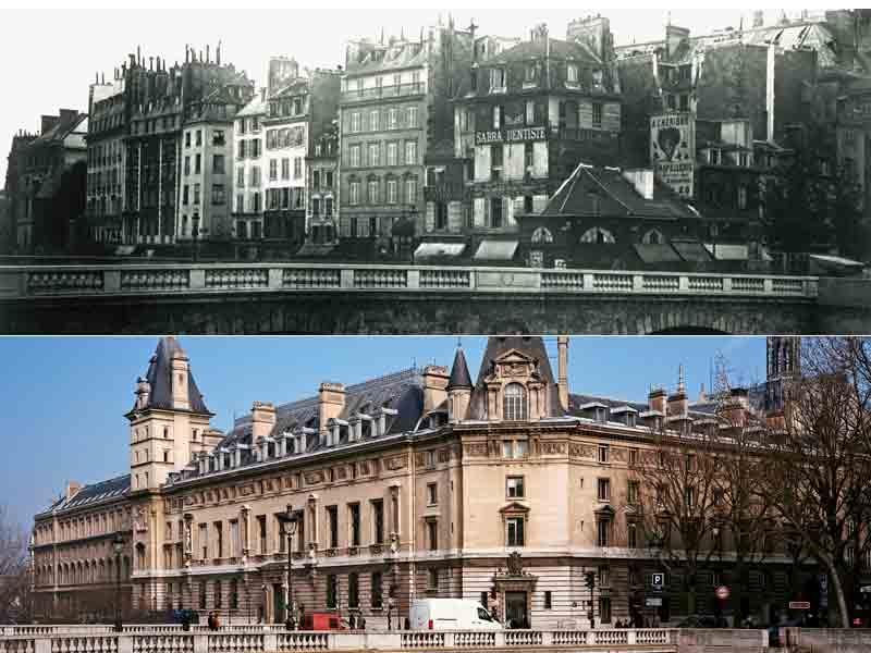 Travaux parisiens sous l'empire