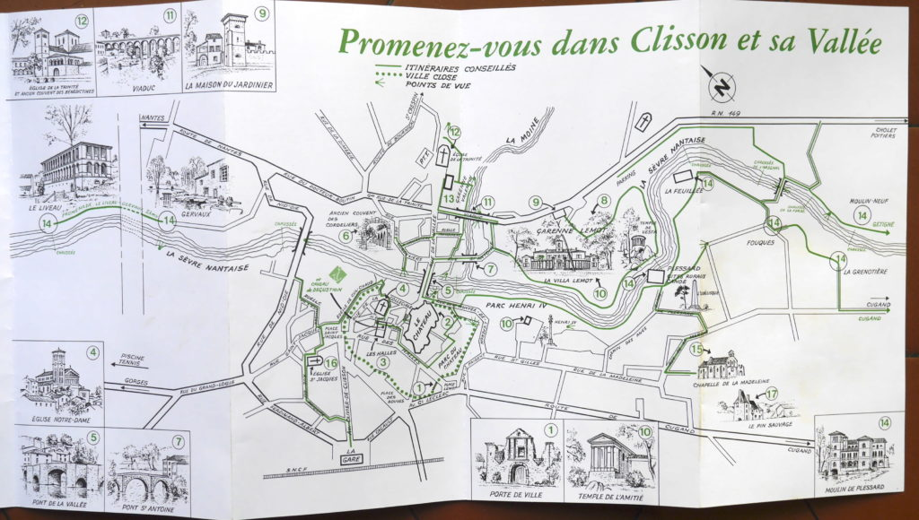 Clisson-carte