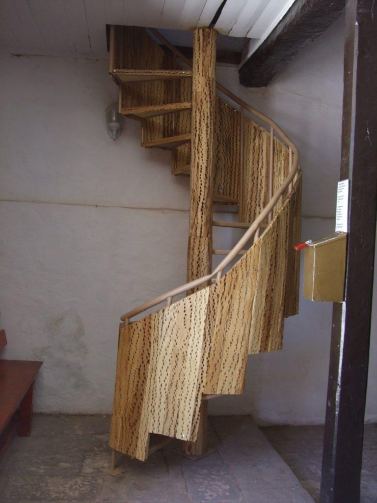 Toconao-chili-église-escalier cactus
