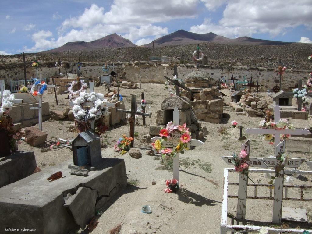 Parinacota-chili-cimetière