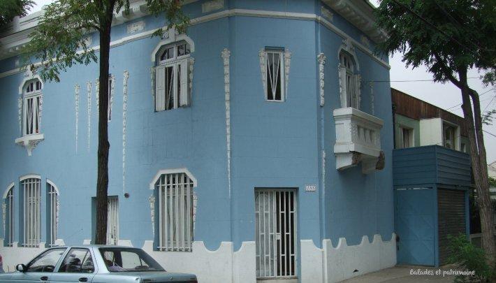 santiago-chili-quartier bellavista