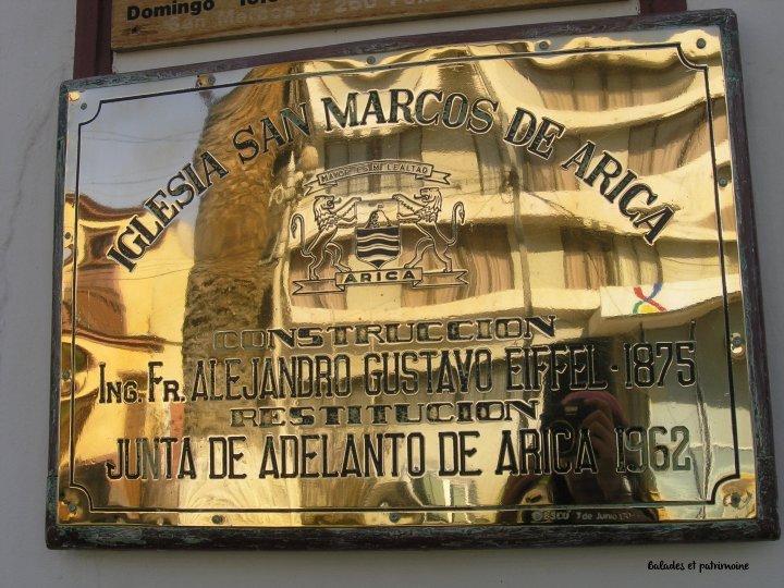 Arica-Chili-eglise-gustave eiffel-