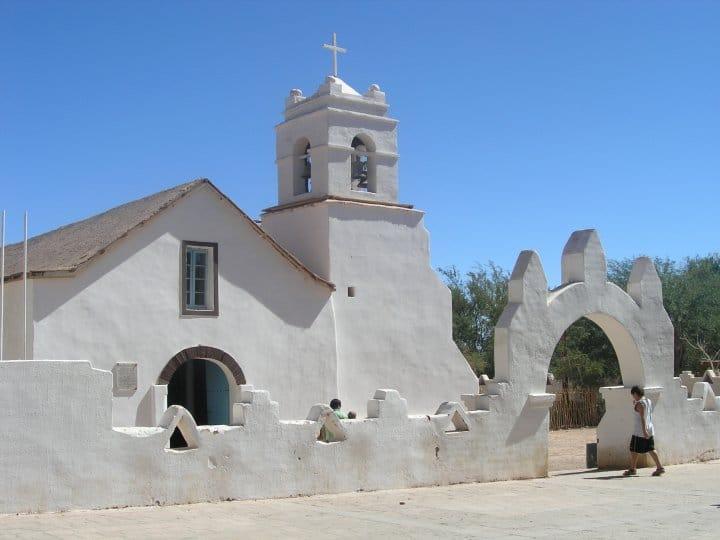Atacama-église