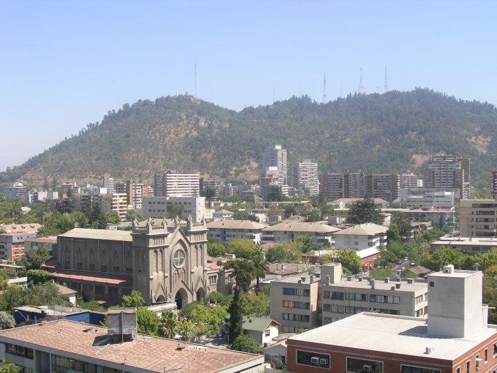 colline cristobal-santiago-chili