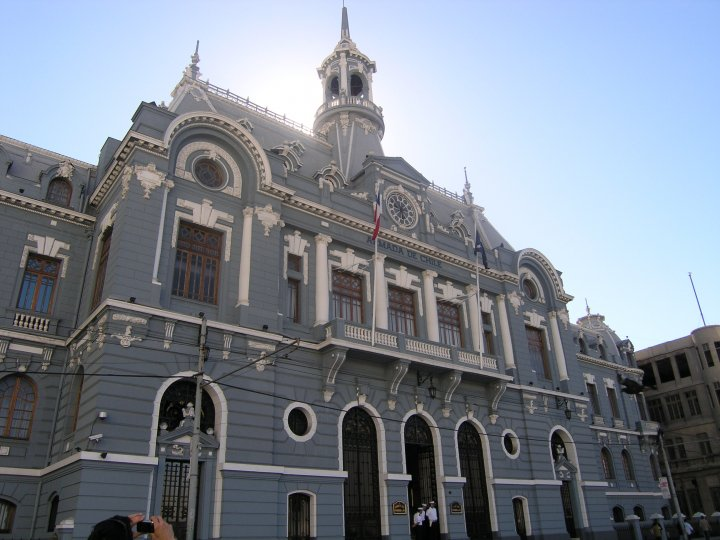 valparaiso-chili-ministère de la guerre