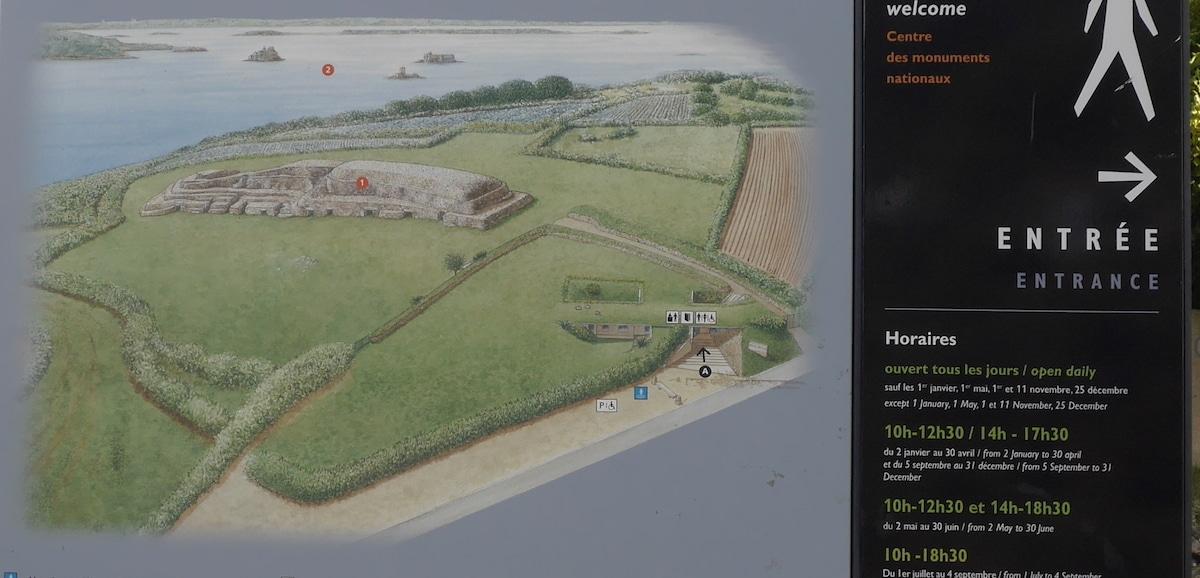 Mausolée funéraire neolithique bretagne