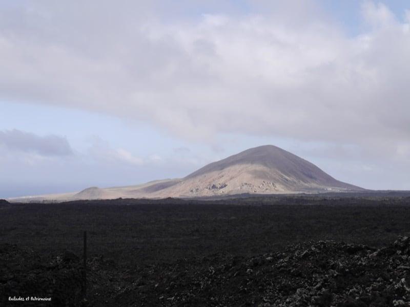 Randonnée Caldera blanca-Lanzarote