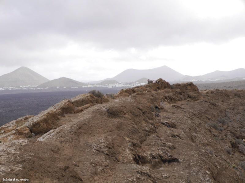 tour du cratère volcan