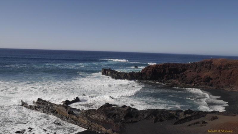coulée lave ocean