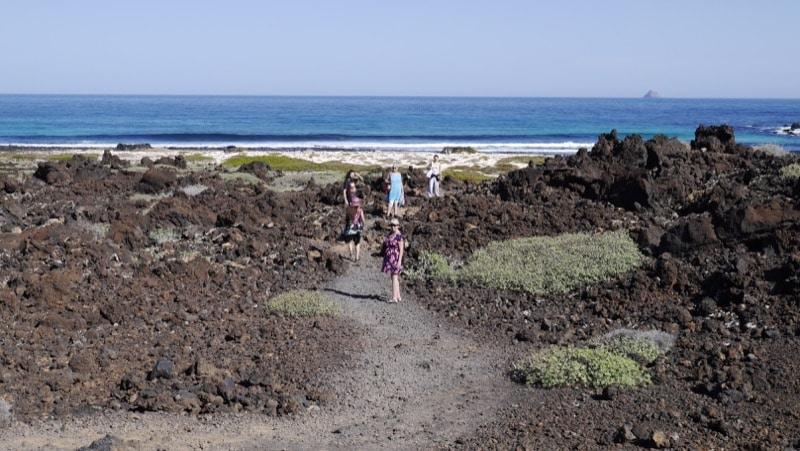 plage sauvage Lanzarote