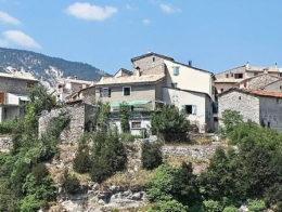 Méailles village haute Provence