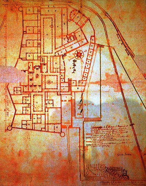 plan monastère chartreux